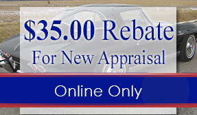 $35 Rebate for New Appraisal Online Only